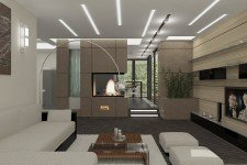 Угловой диван гостиная европейский стиль