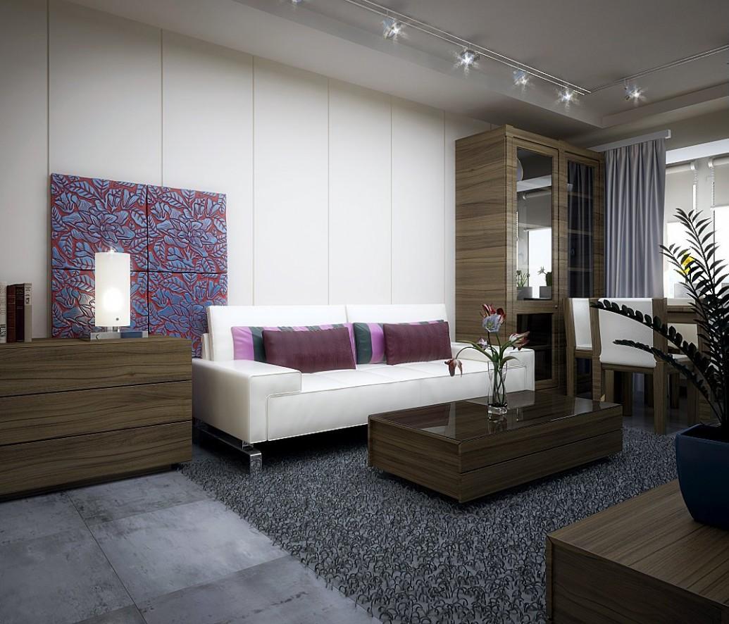 Мебель натуральная древесина скандинавский стиль