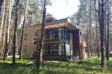 Дом плоская крыша европейский стиль