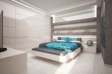 Спальня гипсокартонная конструкция ниши