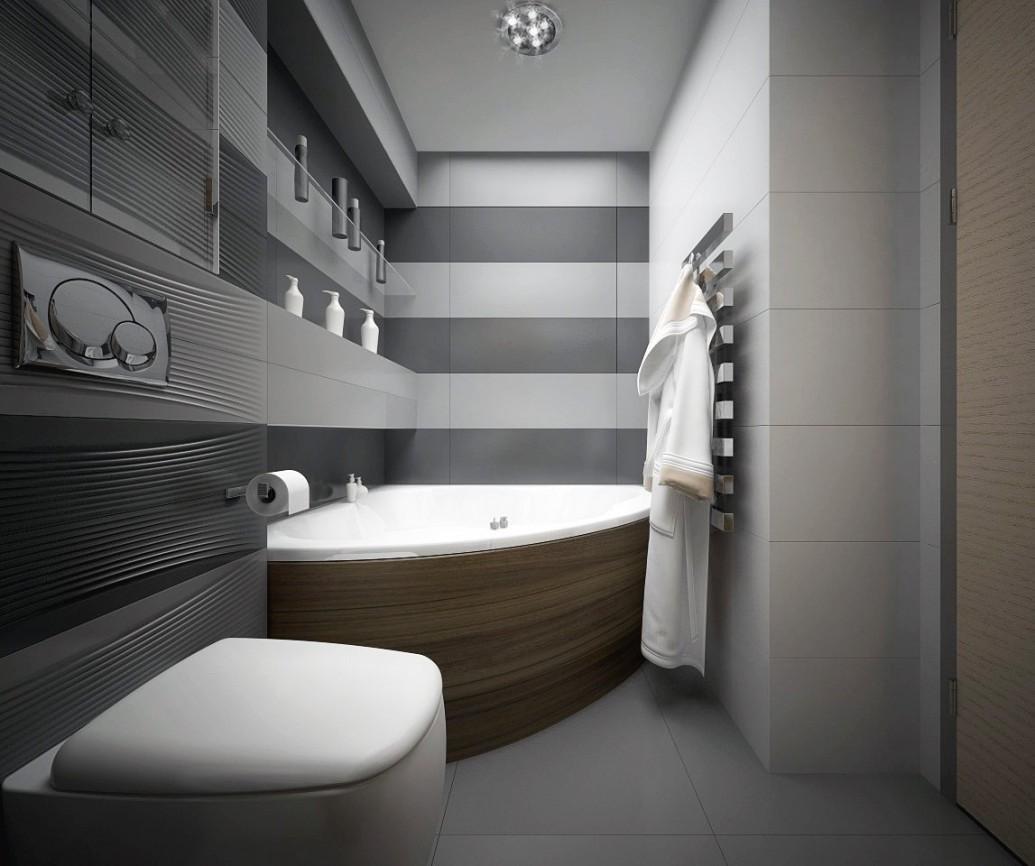 Ванная скандинавский стиль