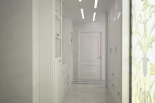 Белый коридор стиль легкий прованс
