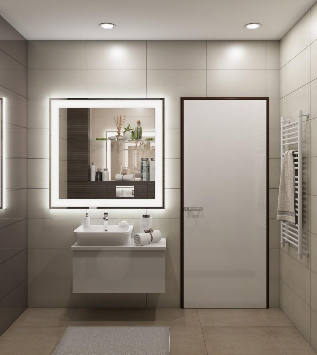 Ванная зеркало подсветка
