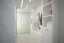 Белая гардеробная стиль легкий прованс