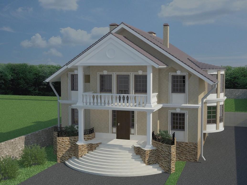 Дом классический стиль
