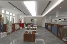 Аакриловый светильник потлок дизайн магазина