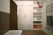 Ванная теплый пол дома средизмноморский стиль
