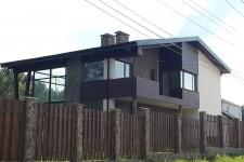 Дом терасса второй этаж