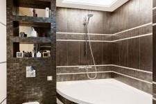 Скрытый свет потолок ванная для парня