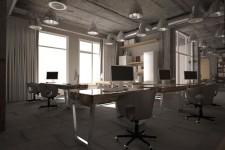 Офис стиль лофт