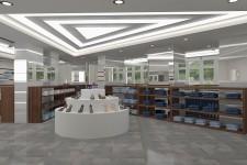Акриловый светильник треугольник дизайн магазины
