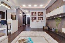 Освещение гостиная квартира-студия современный стиль