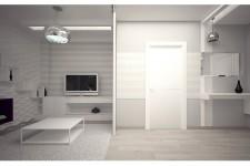 Металлические светильники хай-тек светлая квартира