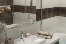 Небольшая раковина ванная комната