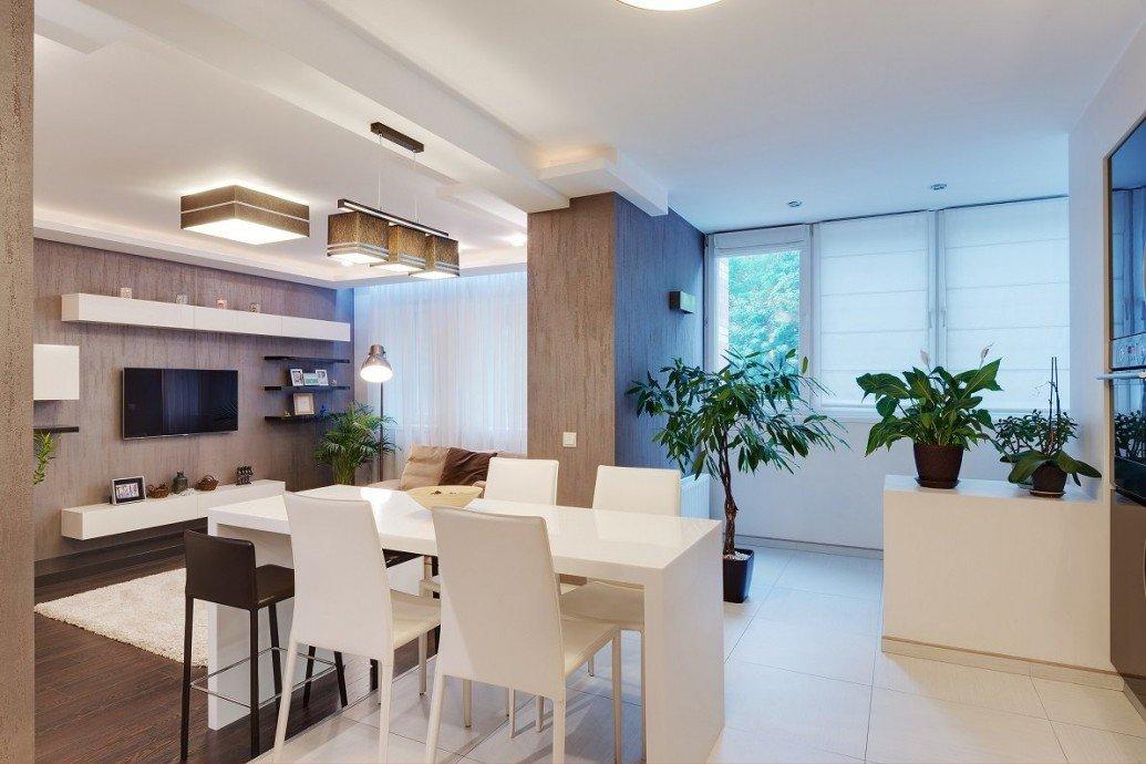 Плитка белая глина кухня квартира-студия
