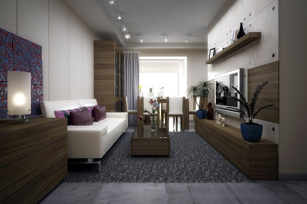 Небольшая квартира скандинавский стиль
