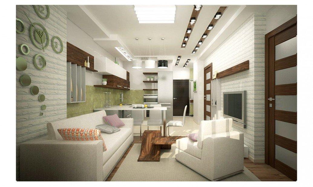 Небольшая квартира неудобная планировка современный стиль