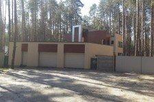 Гараж дома европейский стиль плоская крыша
