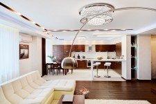 Кухня квартиры-студии для парня