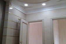LED-споты потолок офиса классический стиль
