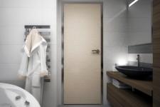 Отделка ванной крупной плиткой скандинавский стиль