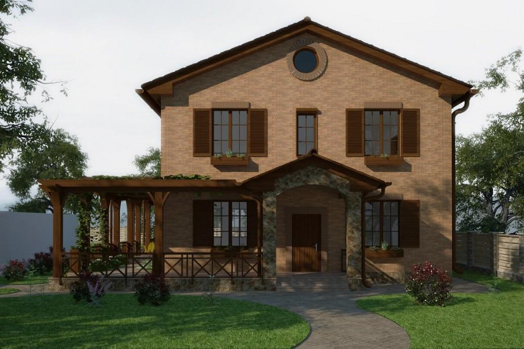 Видовые окна средиземноморский стиль