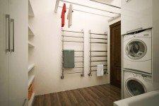 Сушка для белья ванная дом средиземноморский стиль