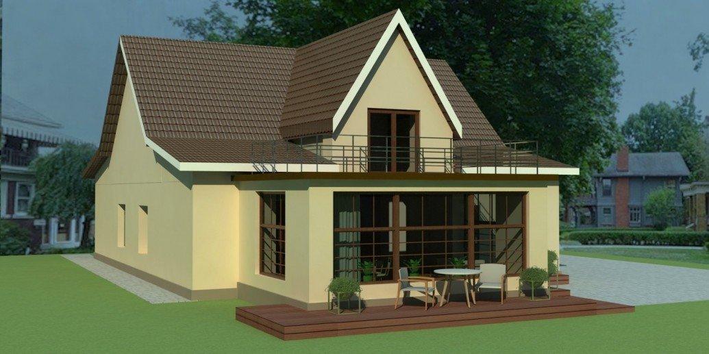 Пристройка терасса загородный дом скандинавский стиль