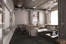 Металлические светильники офис стиль лофт