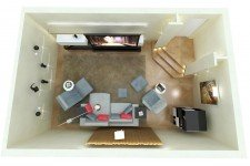 Домашний кинозал для владельца дома
